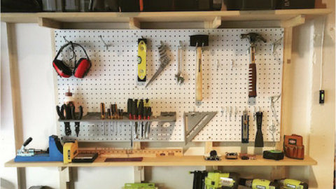 DIY Shop Shelves